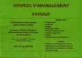 BRUNET.D - SERVICES D'AMENAGEMENT PAYSAGE